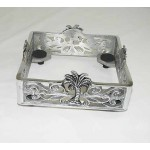 22711 - SQUARE NAPKIN HOLDER / PALM TREE